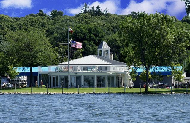 MYC's beautiful Lighthouse Island Clubhouse
