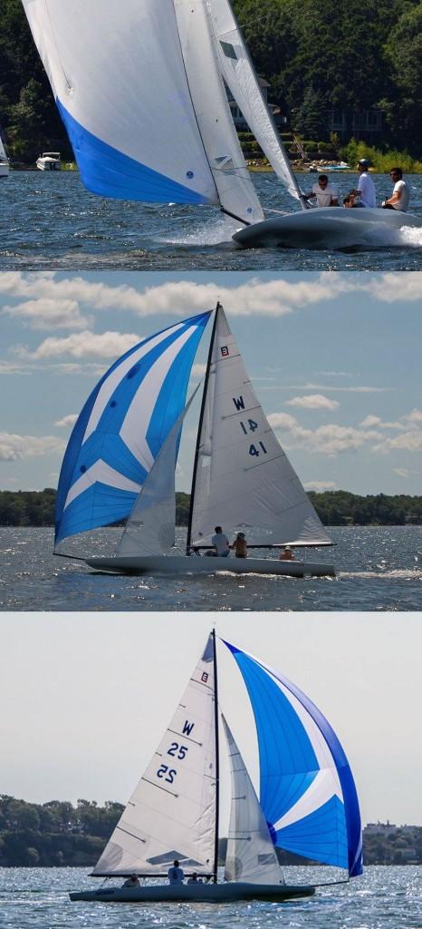 "Top: Charlie Igo and Team aboard ""Big Fresh""; Middle: Wheeler Morris and Team aboard ""Savanna Rose""; Bottom: Lee Alnes and Team aboard ""Euphoria"""